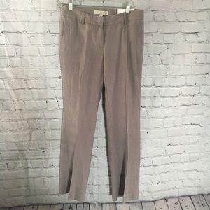 NWT LOFT Marisa Modern 2P linen trouser pants